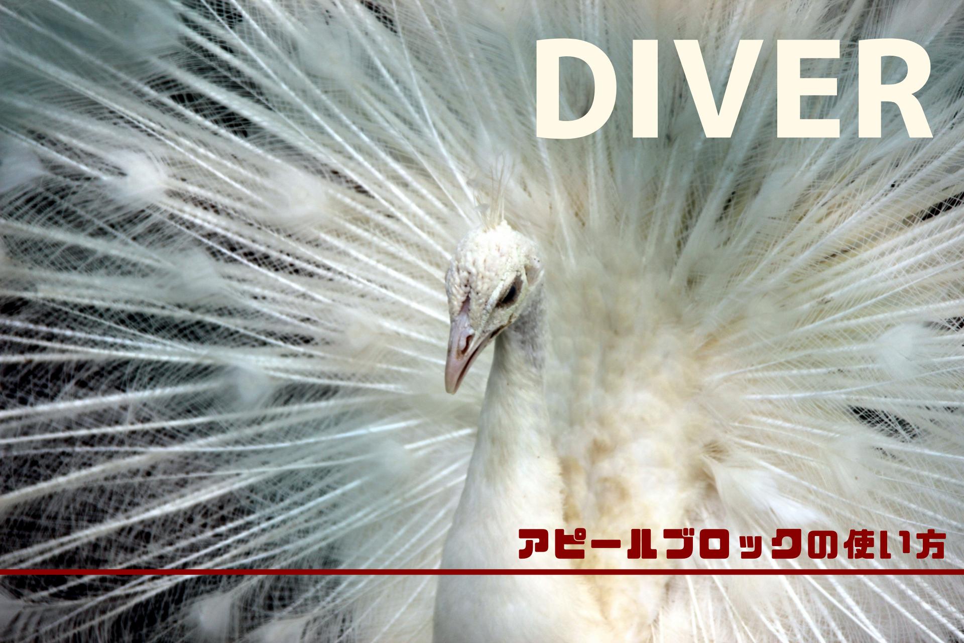 Diverでアフィリエイトの成約率を上げるアピールブロックの使い方